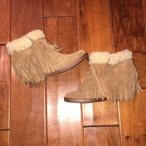 Shoes - Booties with wedge